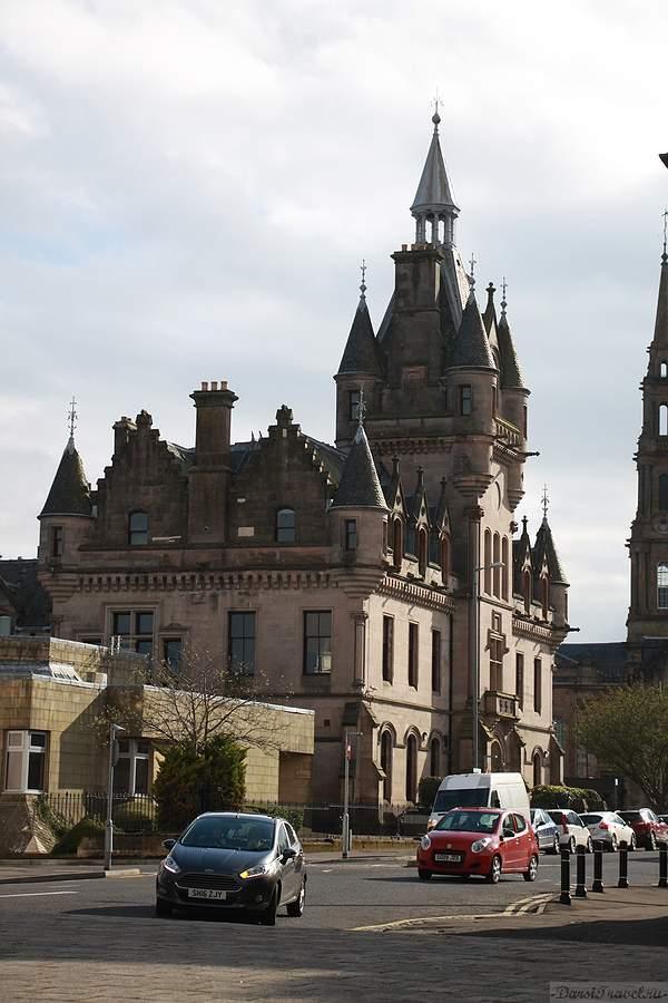 Шотландия. Гринок. Шерифский суд.