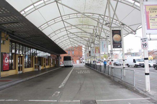 Ирландия. Корк. Автовокзал.