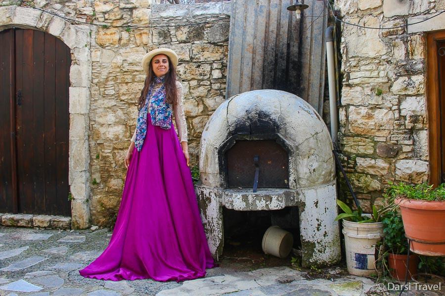 Деревня Лофу Кипр Таверна Lofou Tavern {amp}amp; Agrovino