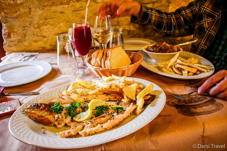Деревня Лофу Кипр Ужин в таверне Lofou Tavern {amp}amp;amp; Agrovino