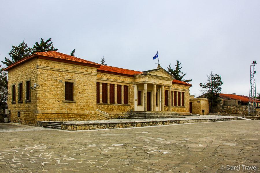 Деревня Лофу Кипр Школа