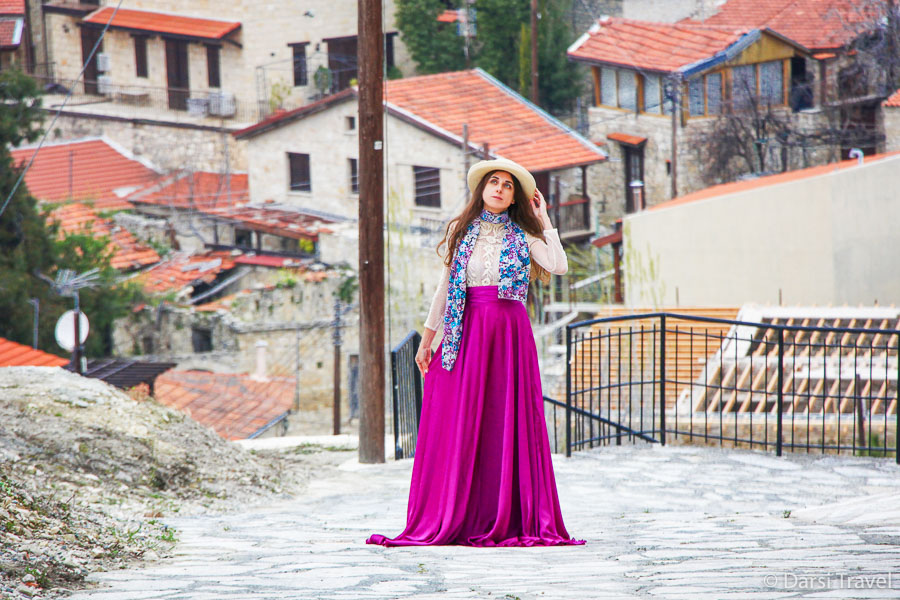 Деревня Лофу Кипр