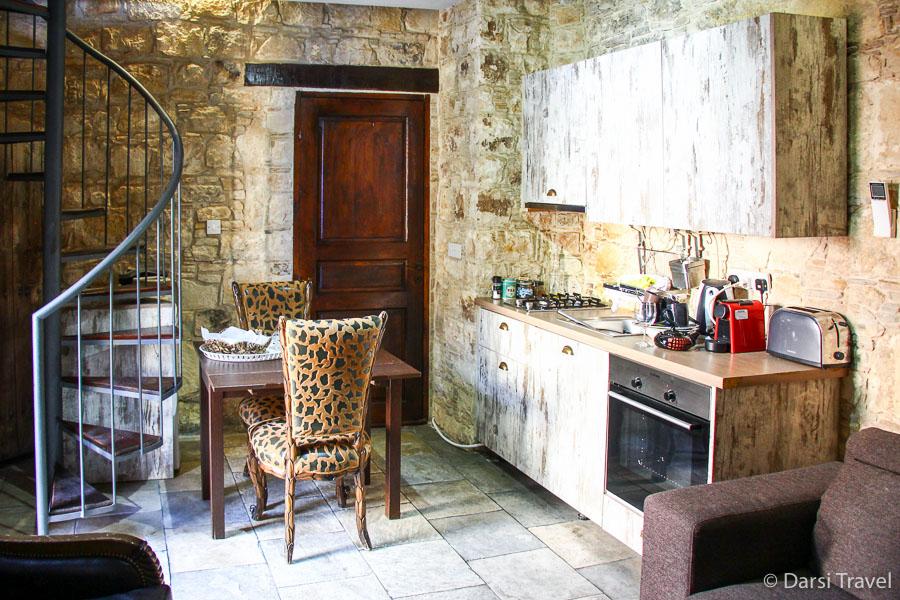 Деревня Лофу Кипр Бутик-отель Oinoessa Traditional Boutique Guest Houses Двухэтажный номер