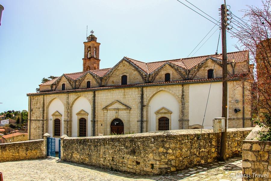 Деревня Лофу Кипр Греческая православная церковь Panagia Chrysolofitissa
